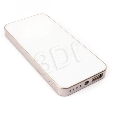 PowerNeed Powerbank P4500W 4500mAh USB biały