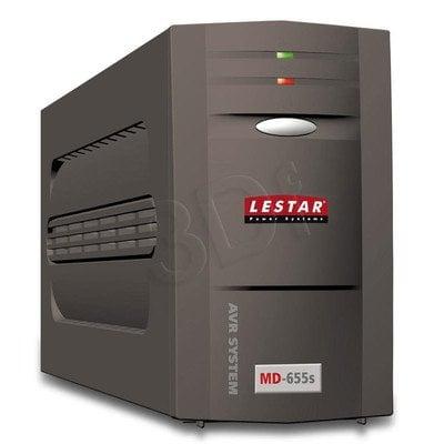 LESTAR UPS MD-655S 625VA AVR 1XSCH+1XIEC USB RJ11