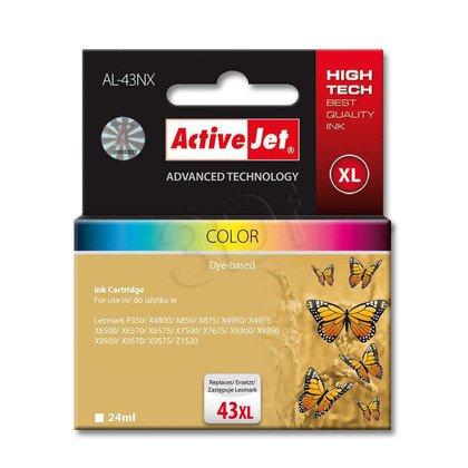 ActiveJet AL-43NX tusz kolorowy do drukarki Lexmark (zamiennik Lexmark 43XL 18YX143E)