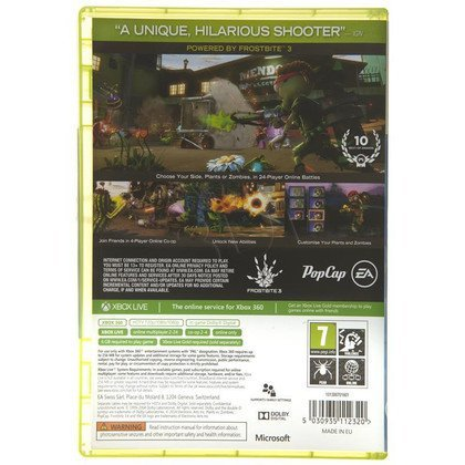 Gra XBOX 360 Plants vs Zombies Garden Warefare