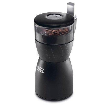 Młynek do kawy DeLonghi KG 40 (150W/ udarowy/ czarny)