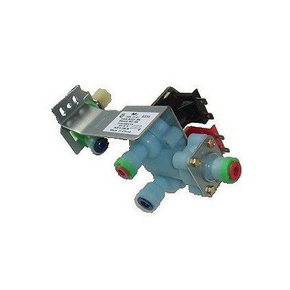 Elektrozawór wody kostkarki 2-drożny Whirlpool (481236058216)