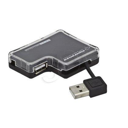 ESPERANZA HUB USB 2.0 4-PORTY EA124