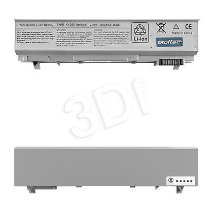 QOLTEC BATERIA DO DELL LATITUDE E6500 | 4400MAH | 11.1V