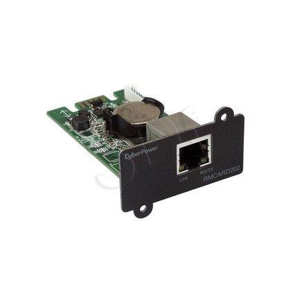 KARTA SIECIOWA CYBERPOWER RMCARD202 (zarządzajaca 1xRJ45, pasuje do modeli OR,PR)