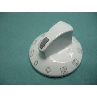 Pokrętło białe 8 funkcji piekarnika + klucz E610.00/09.1672B.01SC (9043070)
