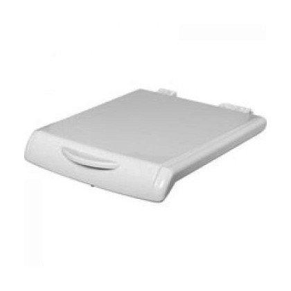 Pokrywa biała pralki z uchwytem (C00116873)