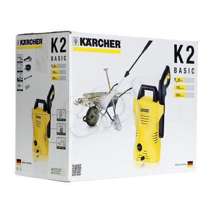 Myjka ciśnieniowa KARCHER K 2 Basic 1.673-155.0
