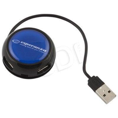 ESPERANZA HUB USB2.0 4-PORTY YOYO NIEBIESKI EA135B