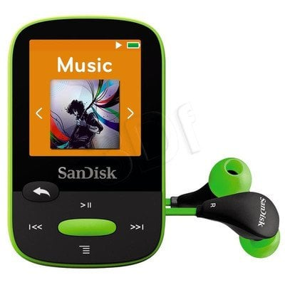 SANDISK MP3 SANSA CLIP SPORTS 8GB LIMONKA