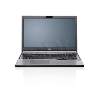 "Fujitsu LIFEBOOK E756 i3-6100U 4GB 15,6"" HD 500+8GB HD 520 Win7P W10P Srebrny 2 y"