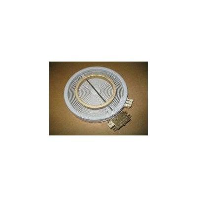 Grzałka płyty ceramicznej Fi 180/120 1800/750W Whirlpool (480121101742)
