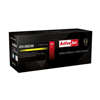 ActiveJet ATH-6002AN [AT-602Y] toner laserowy do drukarki HP (zamiennik Q6002A)