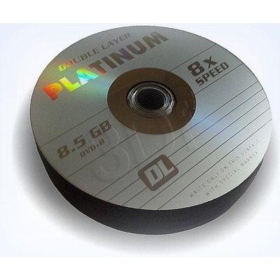 DVD+R PLATINUM 8,5GB X8 DOUBLE LAYER SHRINK 25SZT