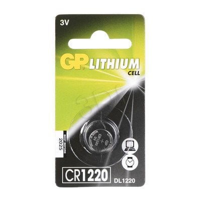 GP Bateria guzikowa CR1220 blister 1szt.