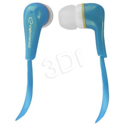 Słuchawki douszne Esperanza LOLLIPOP EH146B (Niebieski)