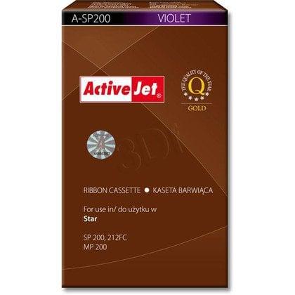 ActiveJet A-SP200 kaseta barwiąca kolor fioletowy do drukarki igłowej Star (zamiennik SP200)