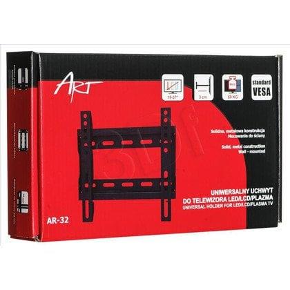 """ART Uchwyt ścienny do telewizora AR-32 ART 19""""-37"""" 60kg"""