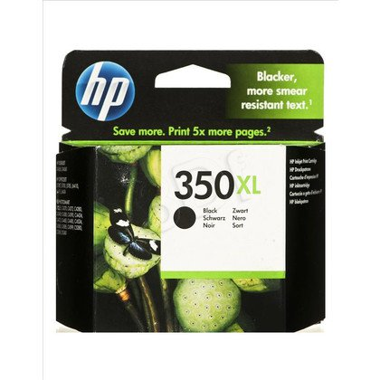 HP Tusz Czarny HP350XL=CB336EE, 750 str., 25 ml