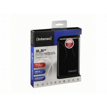 "HDD INTENSO USB 3.0 500GB 2,5"" MEMORYCASE BLACK ZEW"