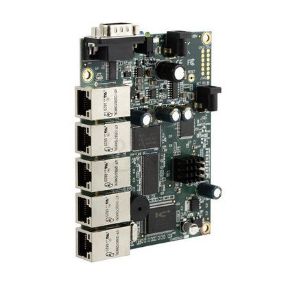 MikroTik RB450 5xLAN PoE Atheros 7150 300MHz