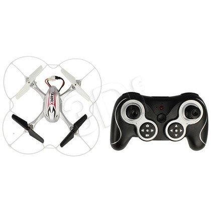 XBLITZ DRON QUADROCOPTER THUNDER SREBRNY