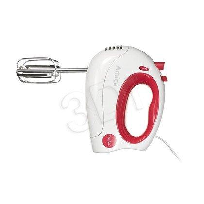 Mikser ręczny Amica MD1012 (300W/biało-czerwony)