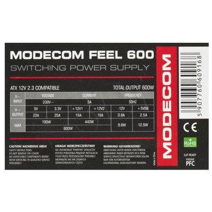 MODECOM ZASILACZ MODECOM FEEL 600