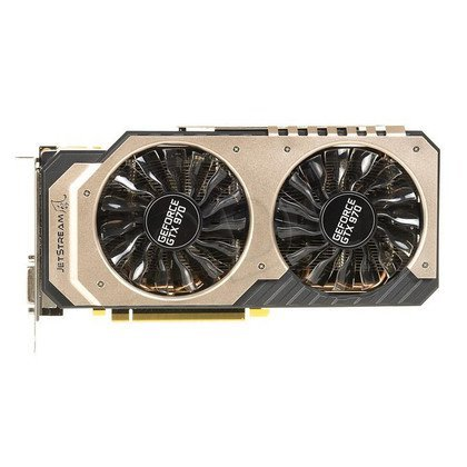 PALIT GeForce GTX 970 4096MB DDR5/256bit DVI/HDMI/DP PCI-E (1304/7000) (wer. OC - JetStream)