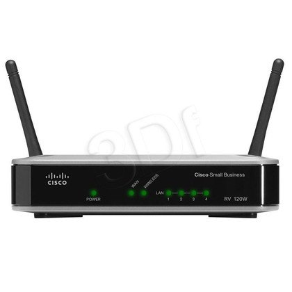 CISCO RV120W-E-G5 Router DSL,WiFi-N, Firewall (WYP)