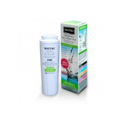 Półki na plastikowe i druciane r Filtr wody UKF8001 (1szt.) do lodówki Whirlpool (480181700573)