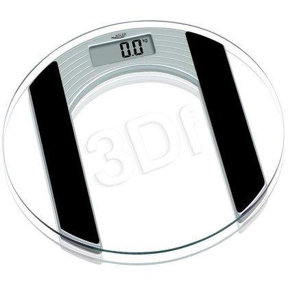 Waga łazienkowa ADLER AD 8122 (150kg/ srebrno- czarna)