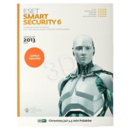 ESET SMART SECURITY BOX - 1 STAN/24M