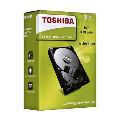 "Dysk HDD TOSHIBA E300 3,5"" 3TB SATA III 64MB 7200obr/min HDWA130EZSTA"
