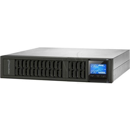 "POWER WALKER UPS ON-LINE 3000VA, 4X IEC+TERMINAL OUT, USB, RS-232, LCD, RACK 19""/TOWER"