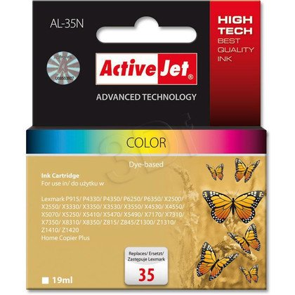 ActiveJet AL-35N tusz kolorowy do drukarki Lexmark (zamiennik Lexmark 35 18C0035E)
