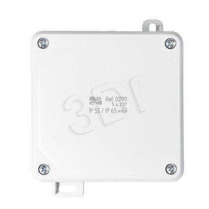 Puszka hermetyczna 2K 98x98x46 IP55/65 0290-04 (Szara)