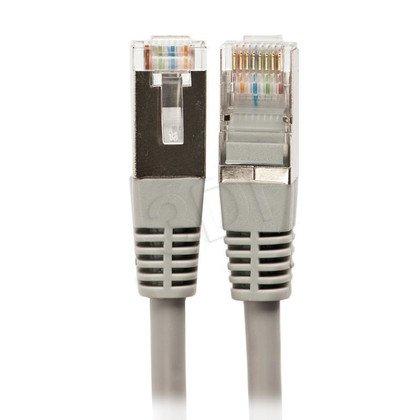ALANTEC patchcord FTP kat.5e KKF5SZA0.5 0,5m szary