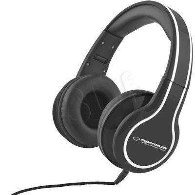 Słuchawki nauszne Esperanza BLUES EH136K (Czarny)
