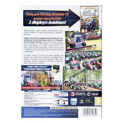 Gra PC Farming Simulator 2015 - Dodatek 1