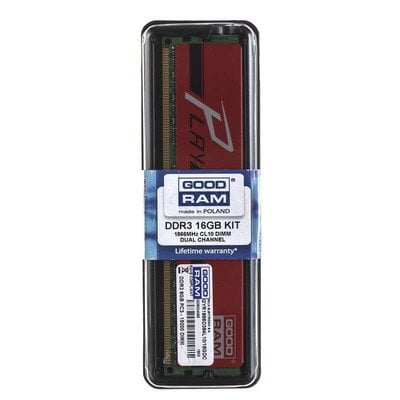 Goodram PLAY DDR3 DIMM 16GB 1866MT/s (2x8GB) RED