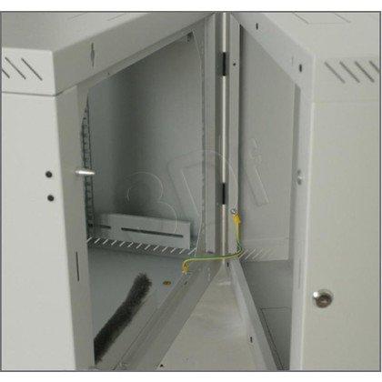 """Triton 19"""" Szafa wisząca jednosekcyjna RBA-15-AS5-CAX-A1 (15U, 500mm głębokość, przeszklone drzwi, kolor jasnoszary RAL7035)"""