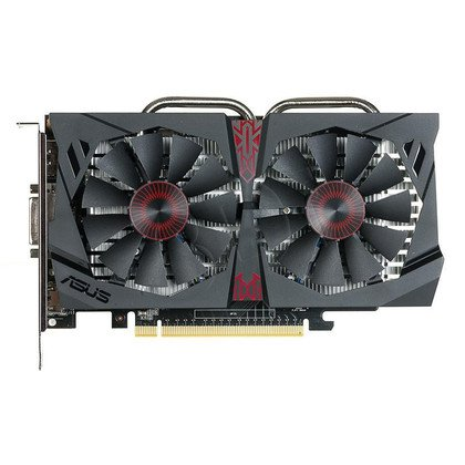 ASUS GeForce GTX 750Ti 2048MB DDR5/128bit DVI/HDMI/DP PCI-E (1202/5400) (wer. OC - STRIX OverClock)