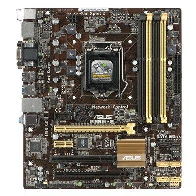 ASUS B85M-E Intel B85 LGA 1150 (2xPCX/VGA/DZW/GLAN/SATA3/USB3/DDR3/CROSSFIRE) mATX