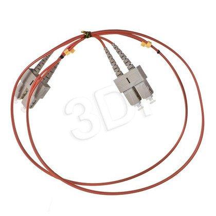 ALANTEC patchcord światłowodowy MM LSOH FOC-SCSC-5MMD-1 1m SC-SC duplex 50/125 pomarańczowy