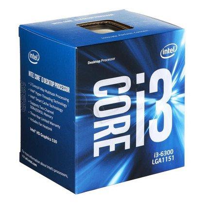 Procesor Intel Core i3 6300 3800MHz 1151 Box