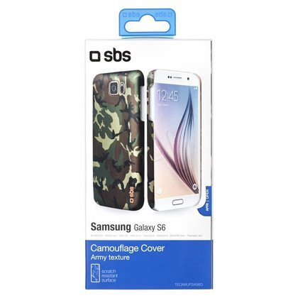SBS Futerał Camouflage cover do Galaxy S6