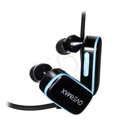 Słuchawki douszne Overmax Activesound 1.1 (Czarno-niebieski)