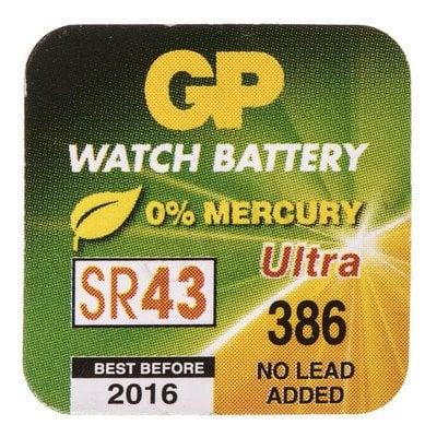 GP Bateria do zegarków SR43 blister 1szt.