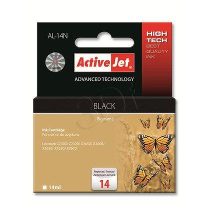 ActiveJet AL-14N tusz czarny do drukarki Lexmark (zamiennik Lexmark 14 18C2090E)